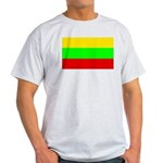 Lithuania Ash Grey T-Shirt