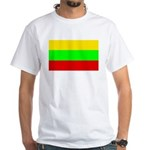 Lithuania White T-Shirt
