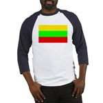 Lithuania Baseball Jersey