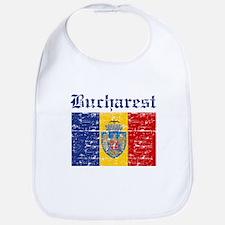Flag Of Bucharest Design Bib