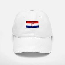 Croatia Flag Picture Baseball Baseball Cap
