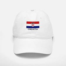 Croatia Flag Stuff Baseball Baseball Cap