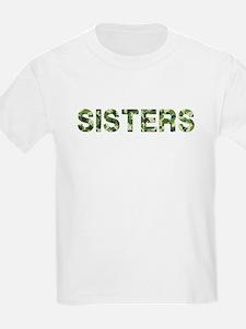 Sisters, Vintage Camo, T-Shirt