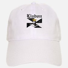 Flag Of Lisbon Design Baseball Baseball Cap