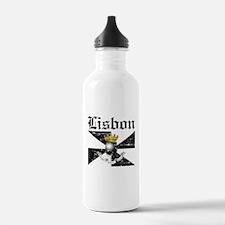 Flag Of Lisbon Design Water Bottle