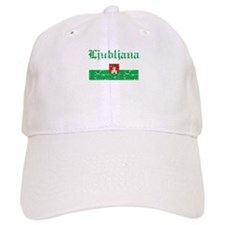Flag Of Ljubljana Design Baseball Cap