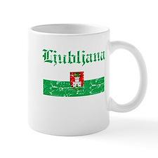 Flag Of Ljubljana Design Mug