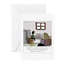 Unique Music teacher Greeting Cards (Pk of 10)