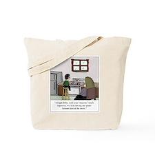 Cute Classical music Tote Bag