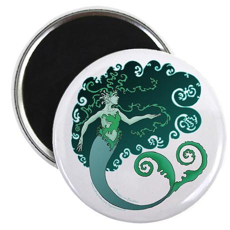 """Winter Mermaid 2.25"""" Magnet (100 pack)"""