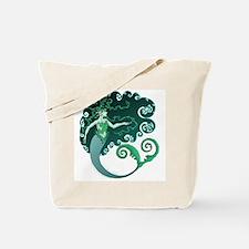 Winter Mermaid Tote Bag