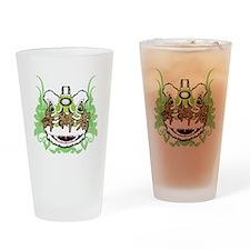 Hok San Lion Green Drinking Glass