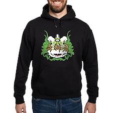 Hok San Lion Green Hoodie