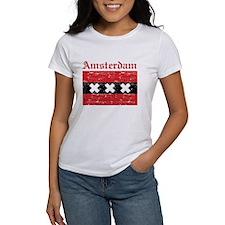 Flag Of Amsterdam Design Tee