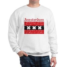 Flag Of Amsterdam Design Sweatshirt