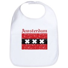 Flag Of Amsterdam Design Bib
