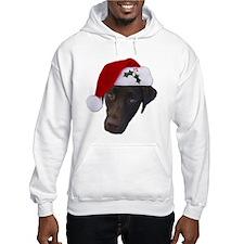 Christmas Lab Hoodie