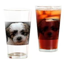 Unique Dog maltese Drinking Glass