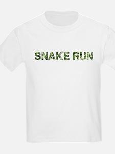 Snake Run, Vintage Camo, T-Shirt