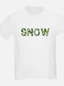 Snow, Vintage Camo, T-Shirt