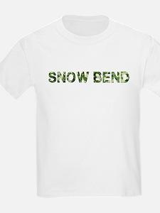 Snow Bend, Vintage Camo, T-Shirt