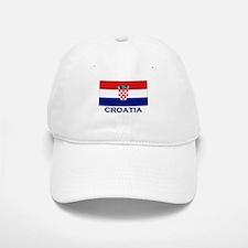 Croatia Flag Gear Baseball Baseball Cap