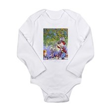Mad Hatter's Tea Party Long Sleeve Infant Bodysuit