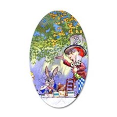Mad Hatter's Tea Party Wall Decal