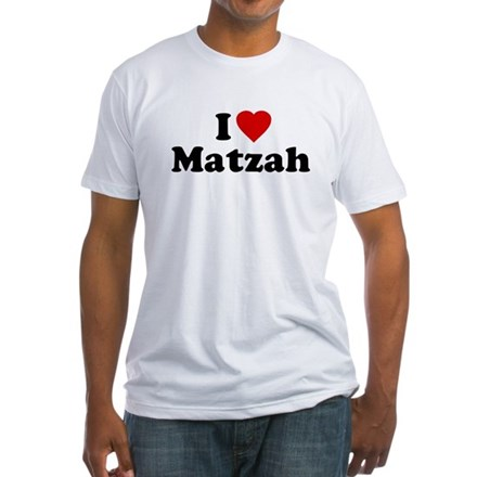 I Love [Heart] Matzah Shirt