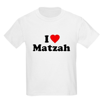 I Love [Heart] Matzah Kids T-Shirt