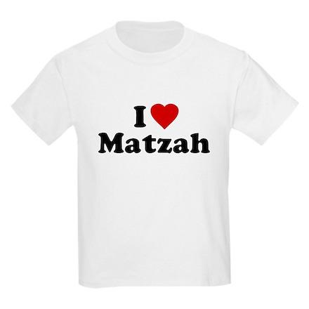I Love [Heart] Matzah Kids T-Shirt