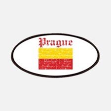 Flag Of Prague Design Patches