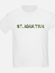 St. Ignatius, Vintage Camo, T-Shirt