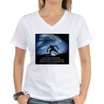 Take Your time Women's V-Neck T-Shirt