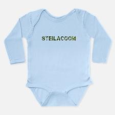 Steilacoom, Vintage Camo, Long Sleeve Infant Bodys