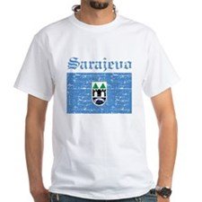 Flag Of Sarajevo Design Shirt