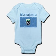 Flag Of Sarajevo Design Infant Bodysuit