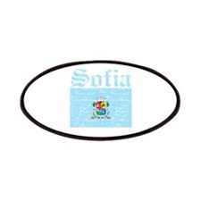 Flag Of Sofia Design Patches