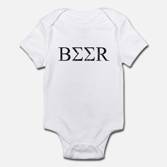 Greek Beer Infant Bodysuit