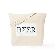 Greek Beer Tote Bag