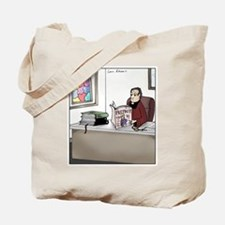 Cute Priest Tote Bag