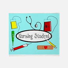 Nursing student Blanket 1.PNG Throw Blanket