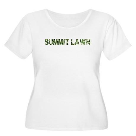 Summit Lawn, Vintage Camo, Women's Plus Size Scoop