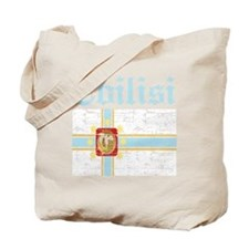 Flag of Tbilisi Design Tote Bag