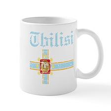 Flag of Tbilisi Design Mug