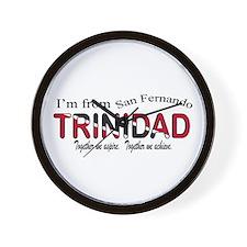 San Fernando Trinidad Wall Clock