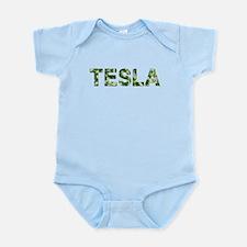 Tesla, Vintage Camo, Infant Bodysuit