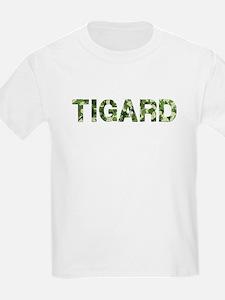 Tigard, Vintage Camo, T-Shirt
