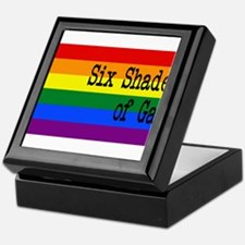Six Shades of Gay Keepsake Box