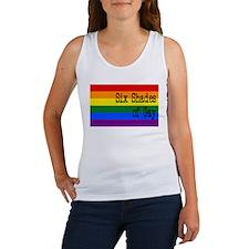 Six Shades of Gay Women's Tank Top